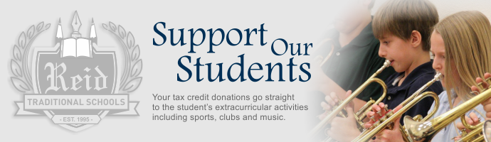 Support Reid Traditional Schools' Students